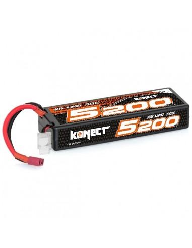 Batería Konect Lipo 5200mah 7.4V 50C...