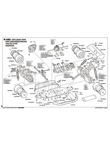 Despiece MP9e TKI RTR K.30874T1