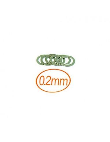 Arandela 8x10x0,2 mm 10 PCS