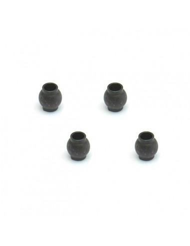 Bolas para rotula eje amortiguador (4)