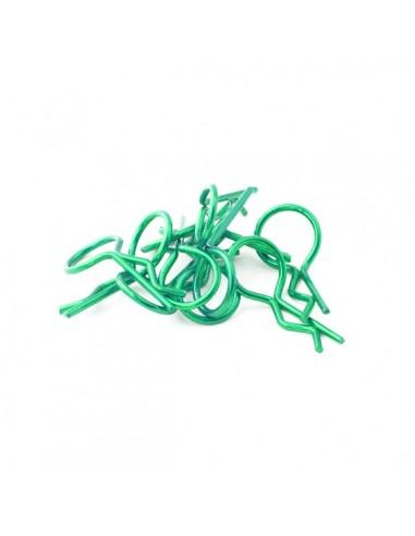 Universal 1/10 clips verdes...