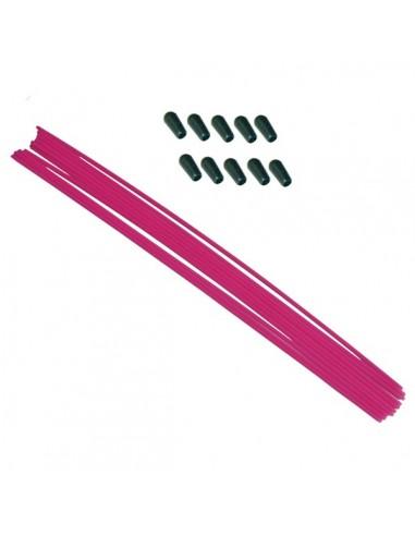 Antena rosa con capuchón (1pcs)