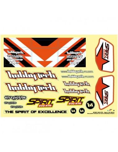 Planche adhesivos Spirit EVO