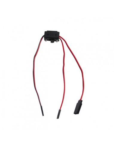 Interruptor 3 conectores Universal / JR