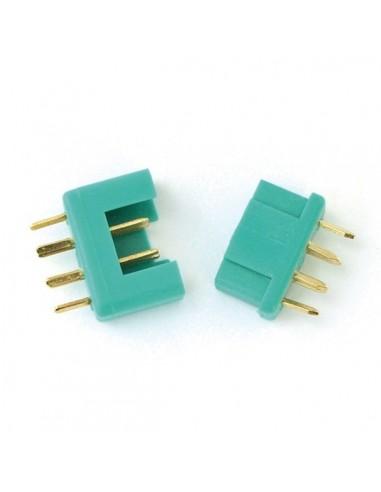 Multiplex conector macho y hembra