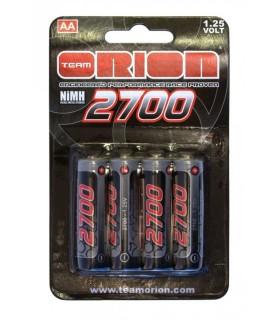 Pilas R6-AA Ni-Mh 2700 mAh 1.25V