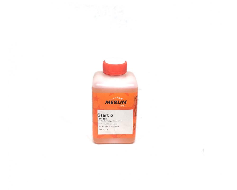 Gasolina Rc Merlin Start 5% Nitrometano
