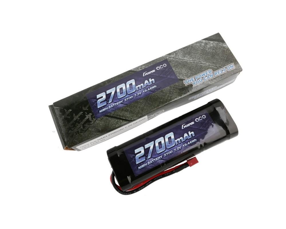 Gens ace NiMh 7.2V-2700Mah Pack (Deans)