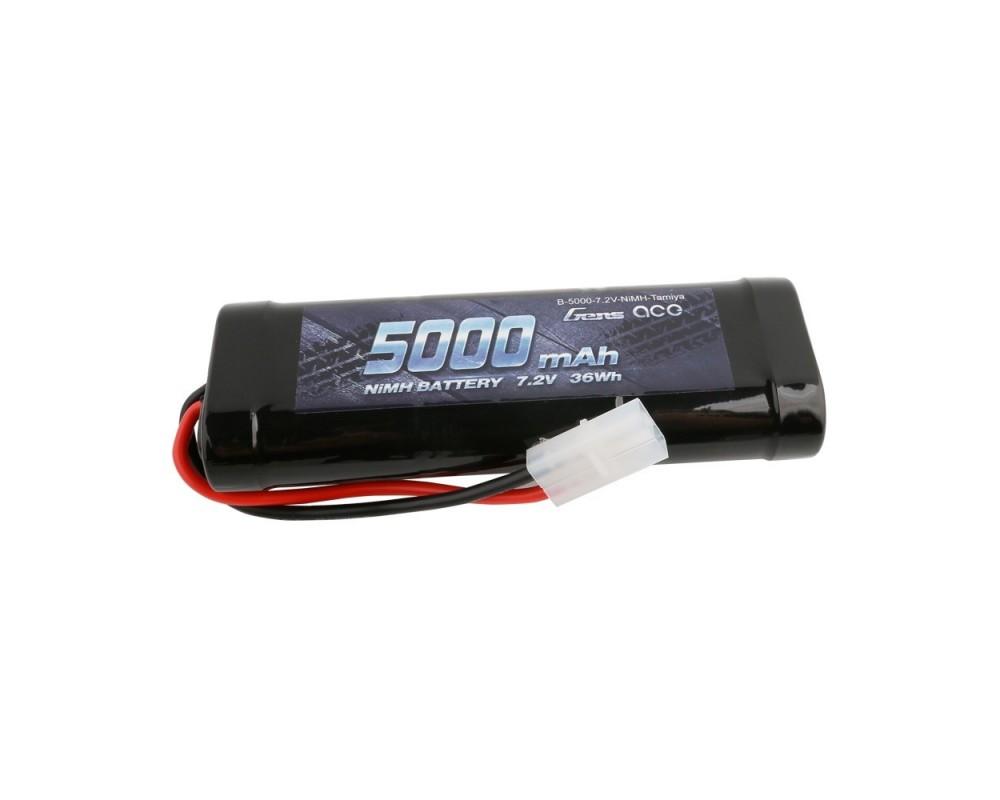 Gens ace NiMh 7.2V-5000Mah Pack (Tamiya)