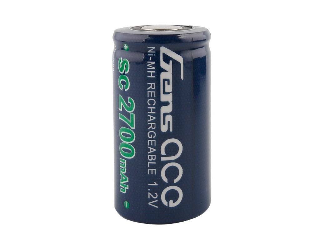 Elemento Unico Batterie Gens ace NiMh 1.2V-SC2700Mah 43x21mm 48g