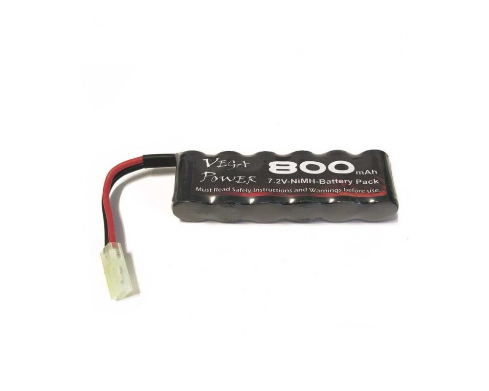 Bateria NiMh 7.2V 800mAH conector Mini Tamiya