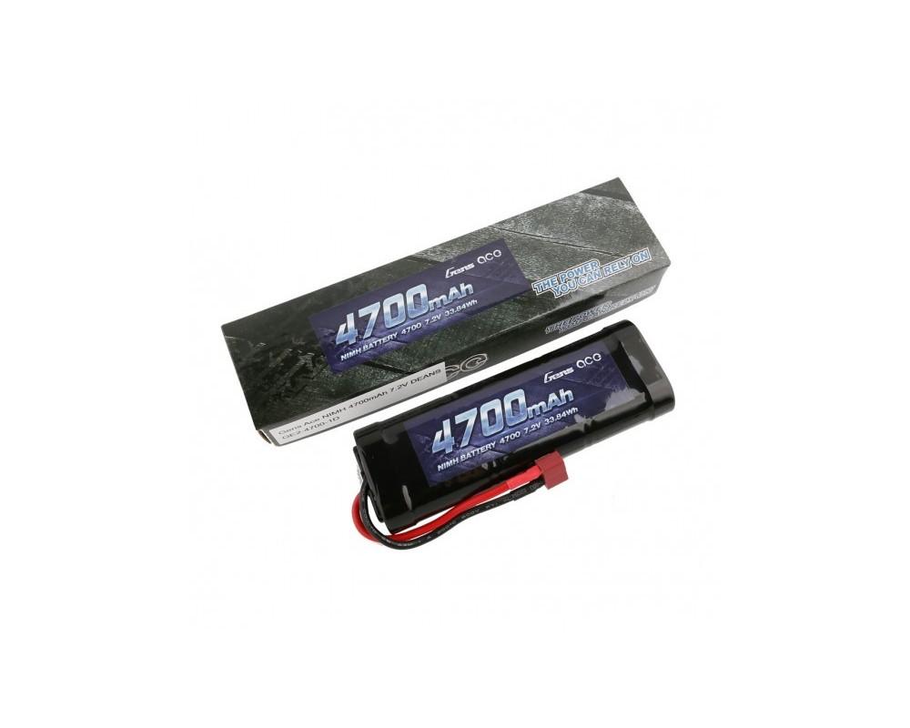 Gens ace Batería NiMh 7.2V-4700Mah (Deans) 135x48x25mm 415g