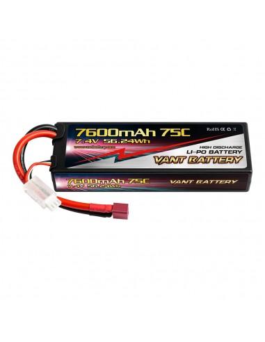 Batería Vant LiPo 2s 7.600 - 75C