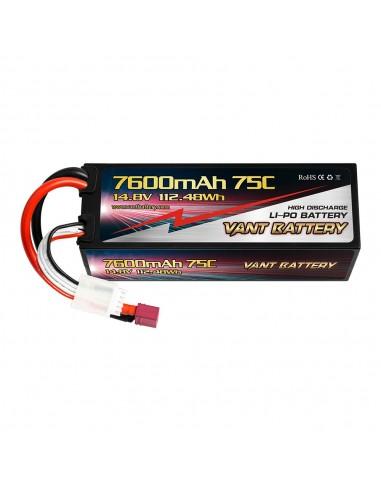 Batería Vant LiPo 4S 7.600 mAh - 75C