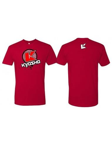 Camiseta Kyosho K-Círculo 2.0 Rojo - XXL