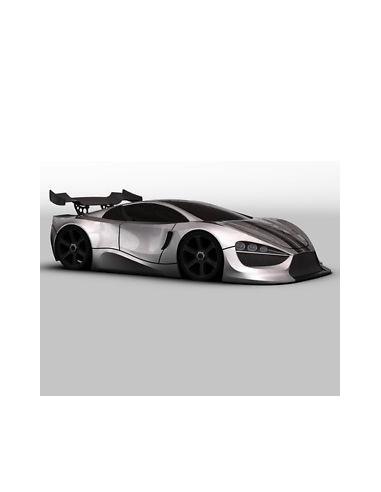 Carrocería GT Concept Car + alerón +...