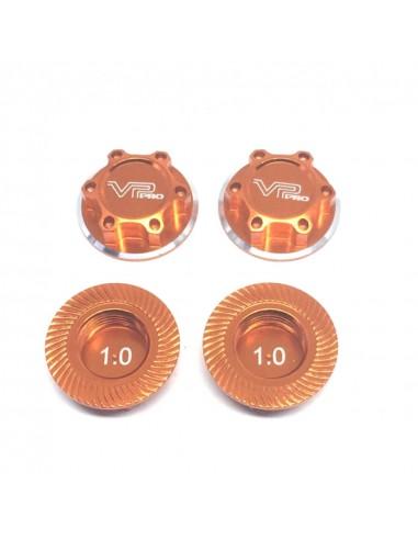Tuercas de rueda ciegas 1.0mm naranjas