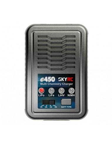 Cargador E450 LiPo-LiFe-Hv-NiMh 4A