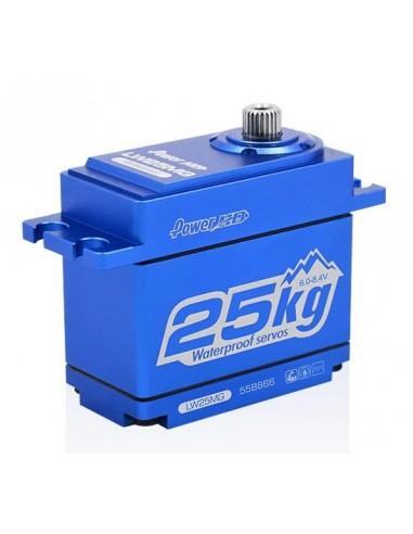 SERVO HD LW-25MG TRX4 WATERPROOF BLUE...
