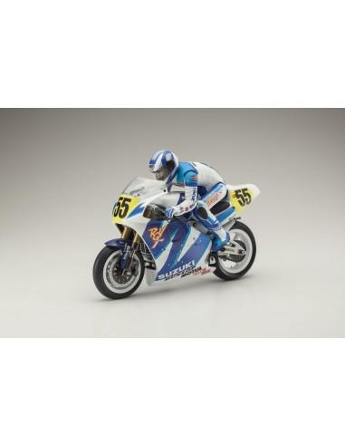 MOTO HANGING ON RACER SUZUKI RGV 1992...