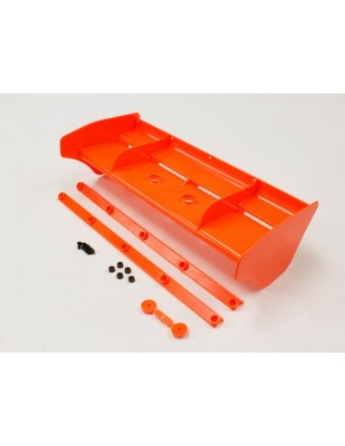 Alerón 1/8 nailon MP9 TKI4 naranja