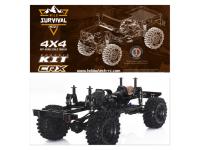 Repuestos y recambios para crawler Hobbytech CRX.